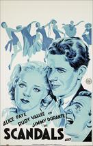 George White's Scandals - Dutch Movie Poster (xs thumbnail)