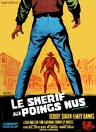 Gunfight in Abilene - French Movie Poster (xs thumbnail)