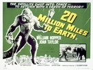 20 Million Miles to Earth - British Movie Poster (xs thumbnail)