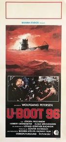 Das Boot - Italian Movie Poster (xs thumbnail)