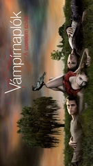"""The Vampire Diaries"" - Hungarian Movie Poster (xs thumbnail)"