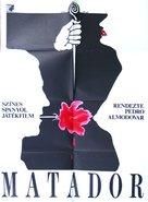 Matador - Hungarian Movie Poster (xs thumbnail)