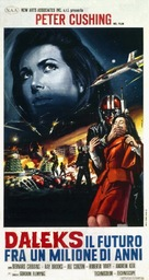 Daleks' Invasion Earth: 2150 A.D. - Italian Theatrical movie poster (xs thumbnail)