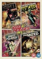 Kick-Ass - British DVD cover (xs thumbnail)