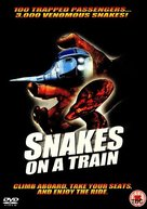 Snakes on a Train - British Movie Cover (xs thumbnail)