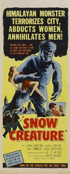 The Snow Creature - Movie Poster (xs thumbnail)