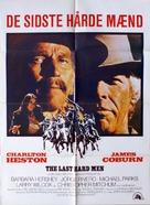 The Last Hard Men - Danish Movie Poster (xs thumbnail)