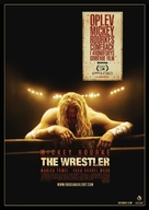 The Wrestler - Danish Movie Poster (xs thumbnail)