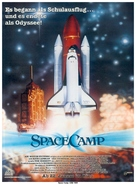 SpaceCamp - German Movie Poster (xs thumbnail)
