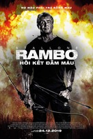 Rambo: Last Blood - Vietnamese Movie Poster (xs thumbnail)