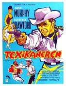 The Texican - Danish Movie Poster (xs thumbnail)