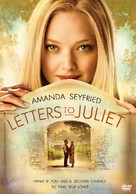 Letters to Juliet - DVD cover (xs thumbnail)
