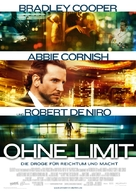 Limitless - German Movie Poster (xs thumbnail)