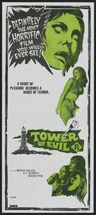 Tower of Evil - Australian Movie Poster (xs thumbnail)