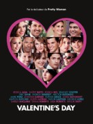 Valentine's Day - French Movie Poster (xs thumbnail)
