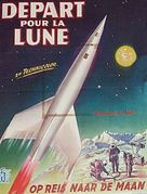 Destination Moon - Belgian Movie Poster (xs thumbnail)