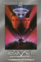 Star Trek: The Final Frontier - DVD cover (xs thumbnail)
