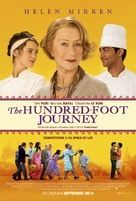 The Hundred-Foot Journey - British Movie Poster (xs thumbnail)