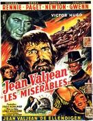 Les miserables - Belgian Movie Poster (xs thumbnail)