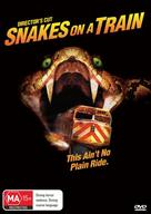 Snakes on a Train - Australian DVD cover (xs thumbnail)