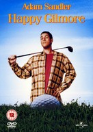 Happy Gilmore - British DVD movie cover (xs thumbnail)