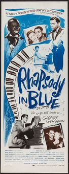 Rhapsody in Blue - Movie Poster (xs thumbnail)