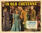In Old Cheyenne - Movie Poster (xs thumbnail)