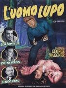 The Wolf Man - Italian DVD movie cover (xs thumbnail)