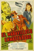 The Masked Marvel - Argentinian Movie Poster (xs thumbnail)