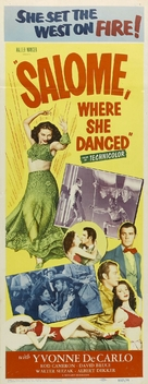Salome Where She Danced - Movie Poster (xs thumbnail)