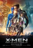 X-Men: Days of Future Past - Vietnamese Movie Poster (xs thumbnail)