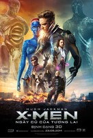 X-Men: Days of Future Past - Vietnamese Movie Poster (xs thumbnail)