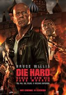 A Good Day to Die Hard - Portuguese Movie Poster (xs thumbnail)