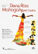 Mahogany - Spanish Movie Poster (xs thumbnail)