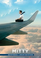 The Secret Life of Walter Mitty - German Movie Poster (xs thumbnail)