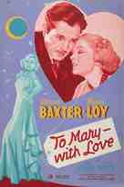 To Mary - with Love - Movie Poster (xs thumbnail)