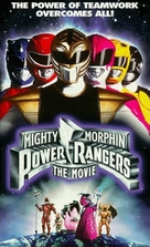 Mighty Morphin Power Rangers: The Movie - VHS cover (xs thumbnail)