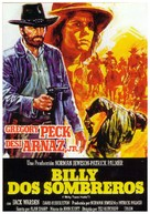 Billy Two Hats - Spanish Movie Poster (xs thumbnail)