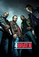Four Brothers - Slovenian Movie Poster (xs thumbnail)