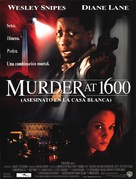 Murder At 1600 - Spanish Movie Poster (xs thumbnail)