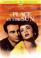 A Place in the Sun - DVD cover (xs thumbnail)