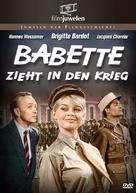 Babette s'en va-t-en guerre - German DVD movie cover (xs thumbnail)