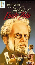 The Life of Emile Zola - VHS cover (xs thumbnail)