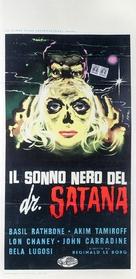 The Black Sleep - Italian Movie Poster (xs thumbnail)