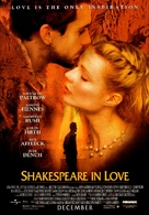 Shakespeare In Love - Advance movie poster (xs thumbnail)
