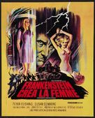 Frankenstein Created Woman - French Movie Poster (xs thumbnail)