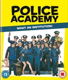 Police Academy - British Blu-Ray cover (xs thumbnail)