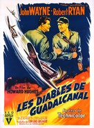 Flying Leathernecks - French Movie Poster (xs thumbnail)