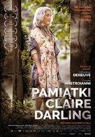La dernière folie de Claire Darling - Polish Movie Poster (xs thumbnail)