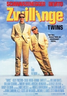Twins - German Movie Poster (xs thumbnail)